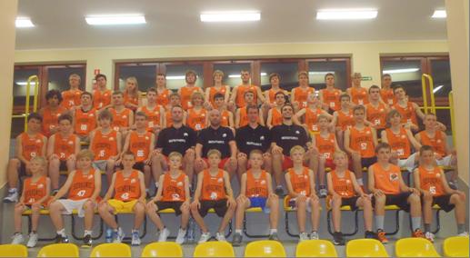 Obóz koszykarski 2013