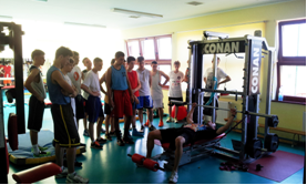 Obóz koszykarski 2014